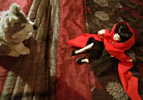 Little Red Riding Hood by Silvestrin