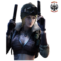 Point Blank - Female Merc 02 by PimplyPete