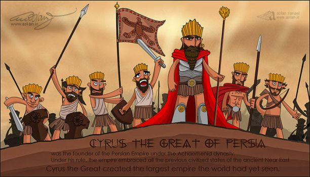 Cyrus the Great of Persia by pedrum