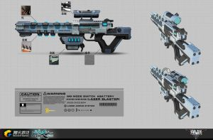 NZ_Laser Rifle by liuyangart