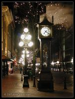 Steam Clock, Vancouver BC by AlexCphoto