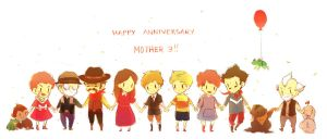 HAPPY 8TH ANNIVERSARY MOTHER 3 by HeyFresco