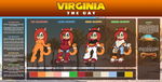 ::Ref2015:: Virginia the cat by FOX-POP