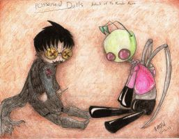 IZ- Monster Meme-Possessed Dolls by flying-monkey-army
