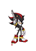 Shadow The Hedgehog by the-hary