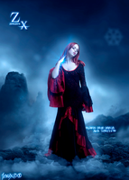 Foto Manipulacion Gothic Mujer Blue by Zerozx78Advent