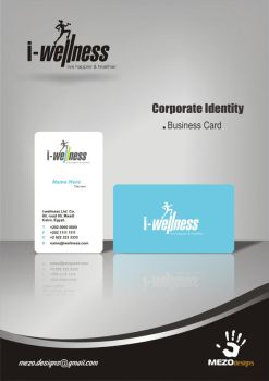 i-wellness Business Card by mezoomar