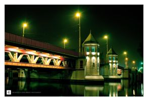 szczecin bridge by erroid