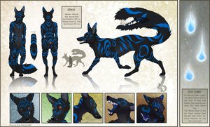Commission - Refsheet for Erago by Chaluny