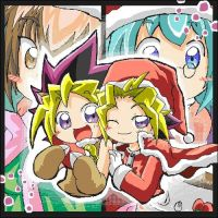 YGO and YGOGX christmas by TheFallingSnow