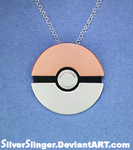 Pokeball Pendant by SilverSlinger