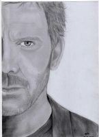 Hugh Laurie as Dr.House by XeNoLeS