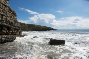 Dunraven Bay 01 Stock by lokinststock