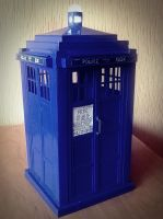 TARDIS by Sherlyy