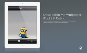 Despicable Me - iPad wallpaper by dennisRVR