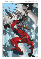 Deadpool kitchen sink by KeirenSmith