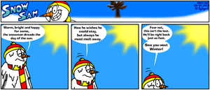 Snow Sam Comic 142 by BluebottleFlyer