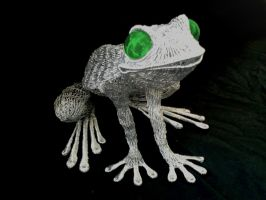 Frog sculpture10 by braindeadmystuff