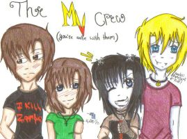 The Morganville Crew by AmberHaunting