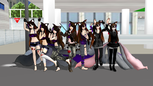 MMM/MMD So many selfmodels by Rayanney