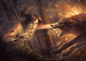 Tomb Rider by Zloidberg