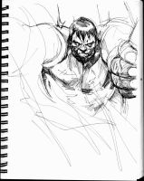 hulk sketch by dogmeatsausage