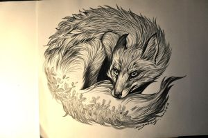 FIRE FOX by banhatin
