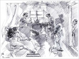 Daughters punished by kindinov