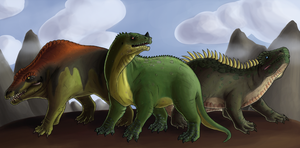 The Dinosauria by Green-Mamba