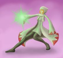 teh white mage by SophieHoulden