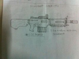 S34A Strassbolt Main Infantry Rifle by Target21