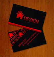 House designer Business Card by Freshbusinesscards