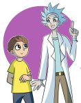Rickles and Mort by MabilaBudgie