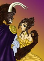Beauty and the Beast by Hizaki-psych