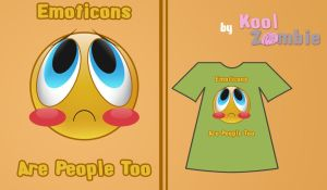 Emoticons are people too by KoolZombie