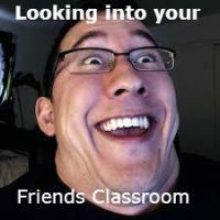Looking into your friends classroom meme by candy70045