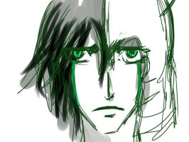 Sketch- Ulquiorra by Zochigo