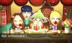 Wory's birthday in Tomodachi life by Aso-Designer