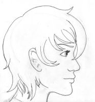 girl's face profile by yourfisharemine