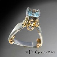 Ice Queen - ring by pmgart