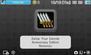 Zelda: Four swords Anniversary editon (RARE ) by portal2player