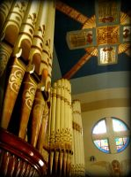 Pipes of the Organ by MaddLouise