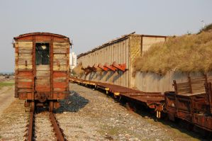 Old Railway Stock 1 by Storms-Stock