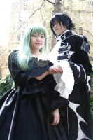 Code Geass - Lelouche and C.C by twinklee