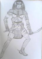 Female gladiator 2 by Dhacxaahsvost