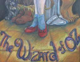 Wizard of Oz by paint-nut2