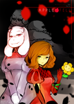 Applefell #1 Cover (Undertale AU Comic Ongoing) by kyashee