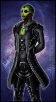 Mass Effect: Thane Krios by Lukael-Art