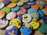 Pokemon Badges! by ditto9