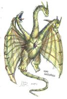 King Ghidorah by Marioshi64